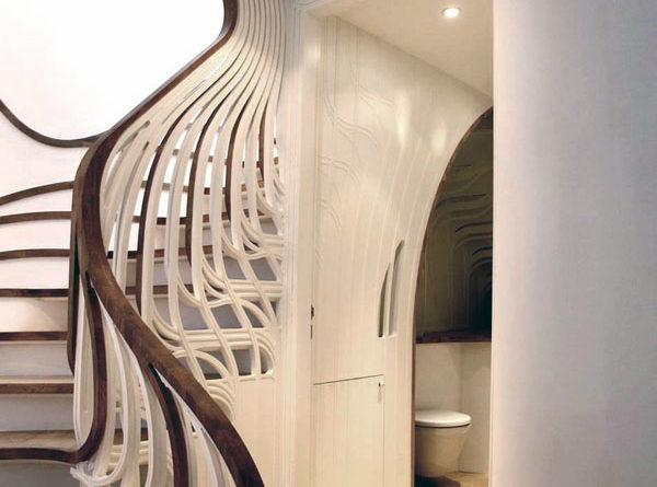 Удивительные поручни для лестниц