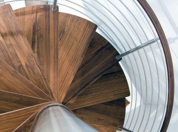 Идеи для винтовых лестниц фото