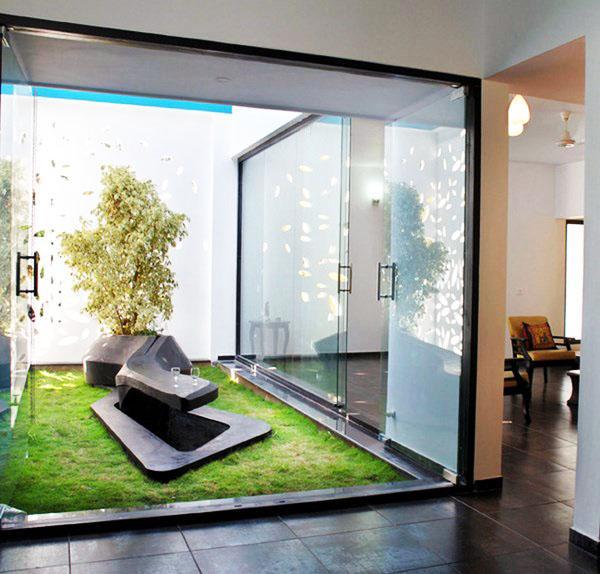 Дизайн сада в квартире