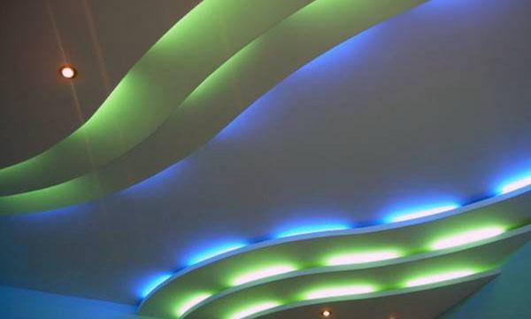 Интересные идеи для потолков подвесных 25 фото
