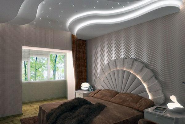 Подвесной потолок, оригинальные формы