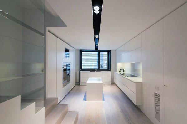 Минималистский дизайн интерьера для комфортного современного образа жизни.