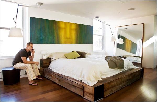 Идеи спальни для холостяка