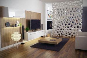 Современное зонирование комнаты — 25 современных дизайнерских идей.
