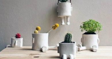 Декоративные горшки для цветов