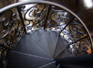 Интересные идеи металлических лестниц.