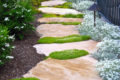 20 идей дизайна садовых дорожек из камня.