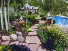 Красивые садовые дорожки.