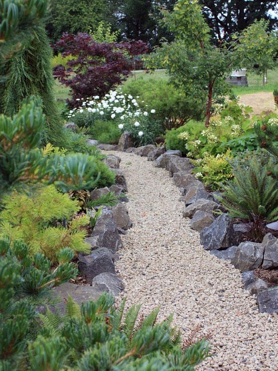 советы идеи для садовых дорожек