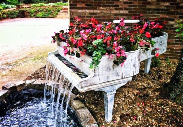 Старое пианино новая жизнь