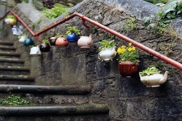 Творческие идеи для цветочных судов