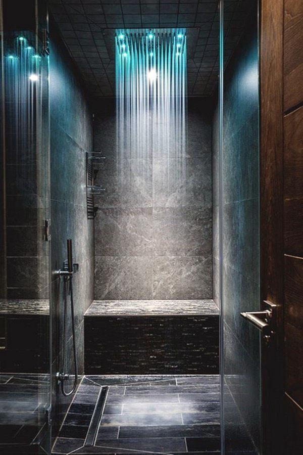 Тропический душ современная ванная комната