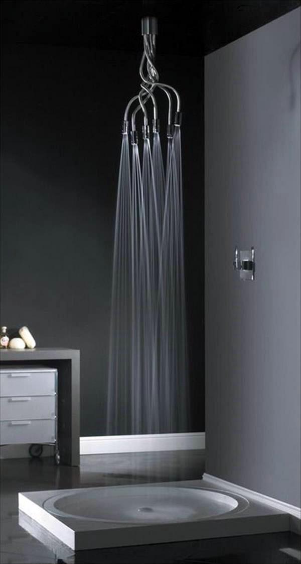 Тропический душ дизайн