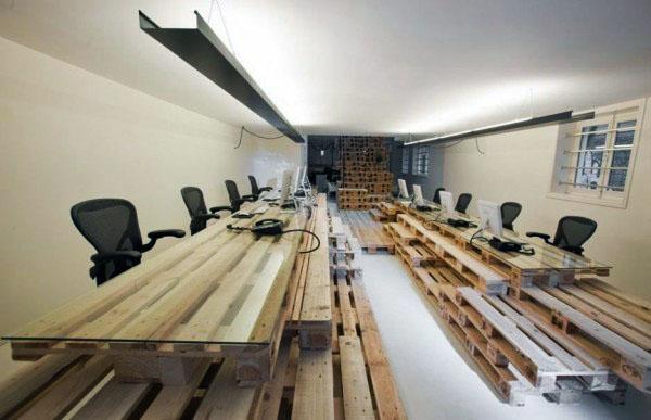 Нестандартная мебель из поддонов