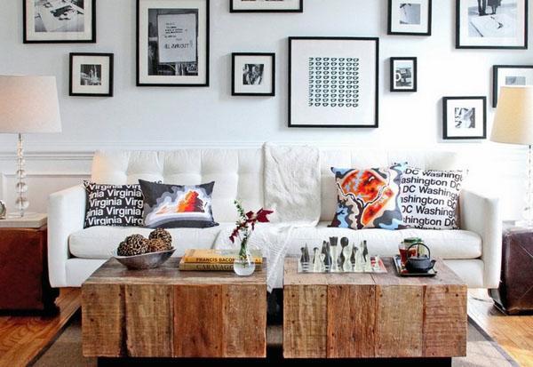 дизайн деревенской мебели