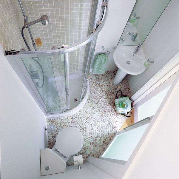 идеи для маленьких ванных комнат