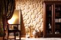 Способы отделки стен декоративным камнем — методика, примеры.