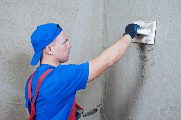 Очистка и подготовка к нанесению декоративного камня