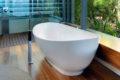 Деревянный пол в ванной, лучшие идеи интерьера.