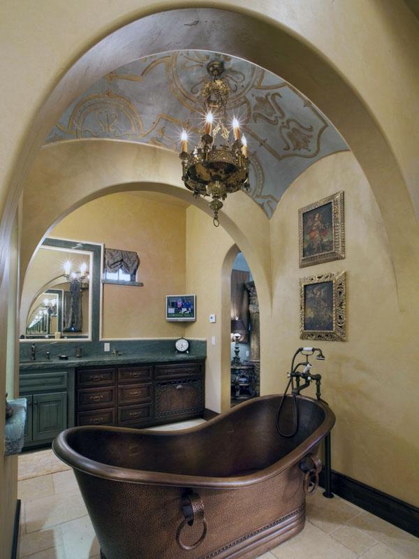 ванная комната дизайн потолка