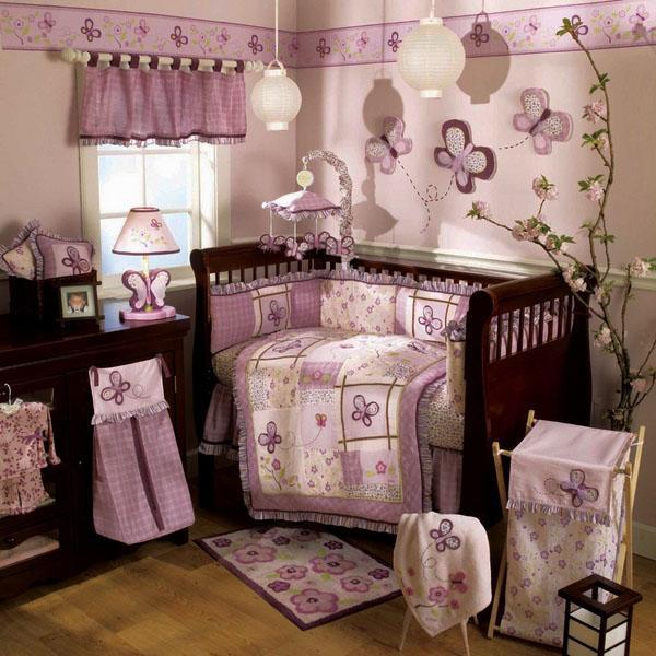 Красивый декор детской комнаты