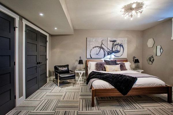 Как устроить спальню в подвальном помещении