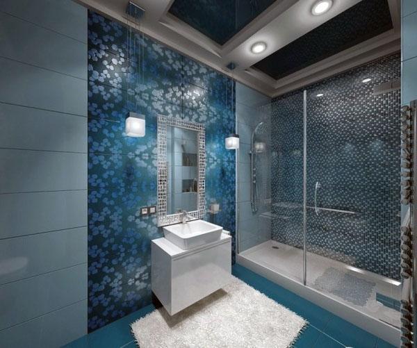 ванная комната-современный-дизайнерегородок п