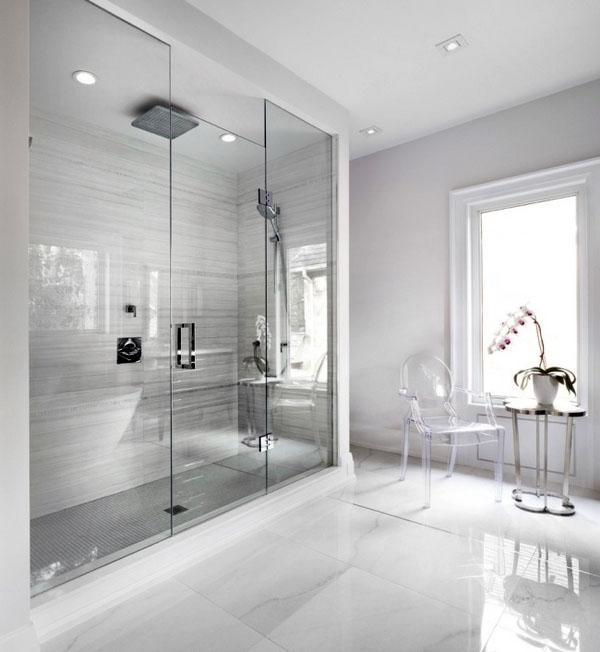 Идеи для ванной-дизайна-раздвижные стеклянные двери