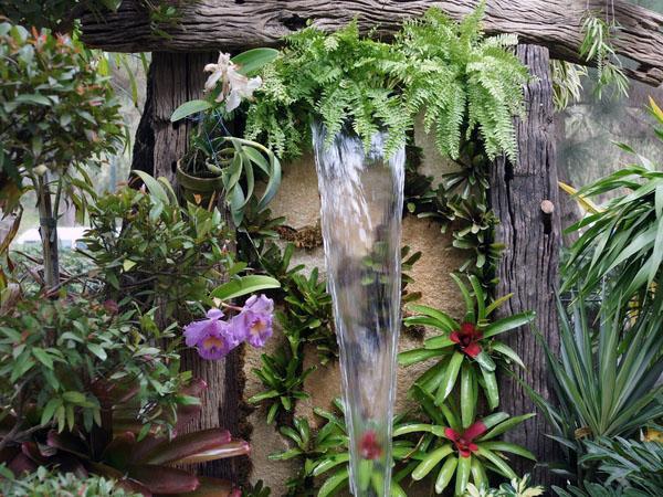 Мини-водопады для сада
