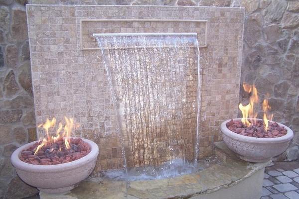 Идеи для водопадов, фонтанов