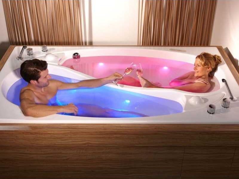 размеры прямоугольных ванн