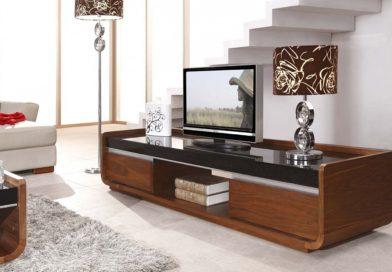 Цветовое и стилевое решение тумбы под телевизор