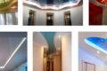 Какой материал для подвесного потолка лучше: гипс или поп?