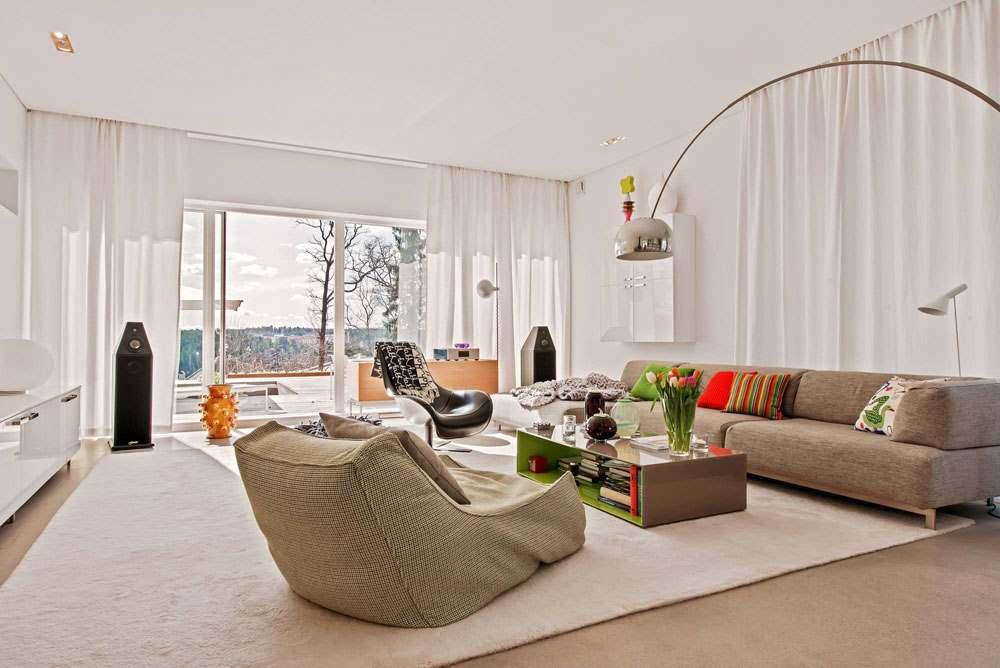 30 стильных интерьеров современных гостиных20