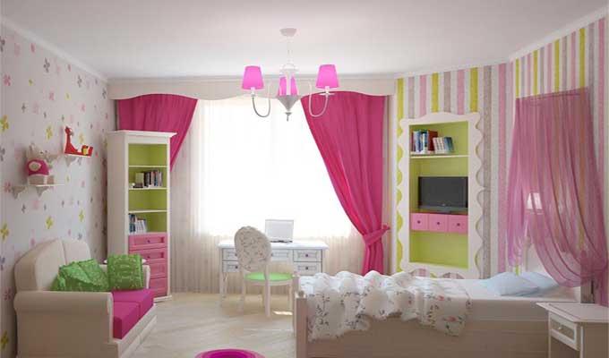 Дизайн-интерьера-детской-комнаты-для-девочки1
