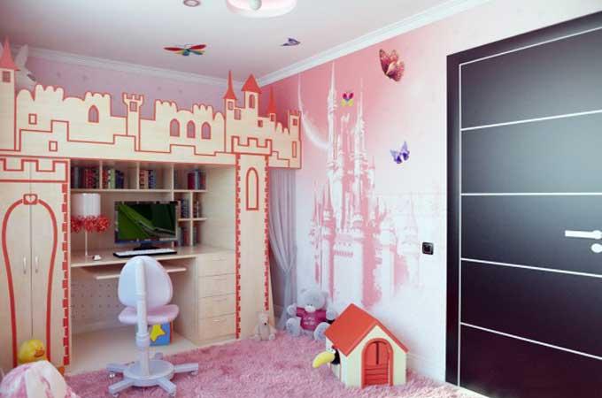 Дизайн-интерьера-детской-комнаты-для-девочки3