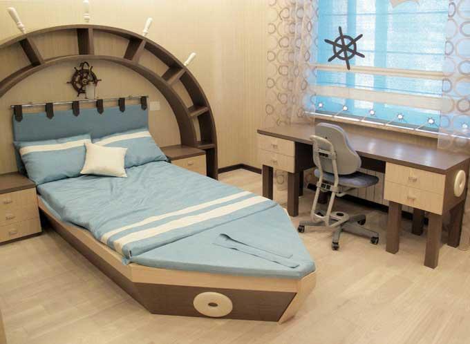 Дизайн-интерьера-детской-комнаты-для-мальчика