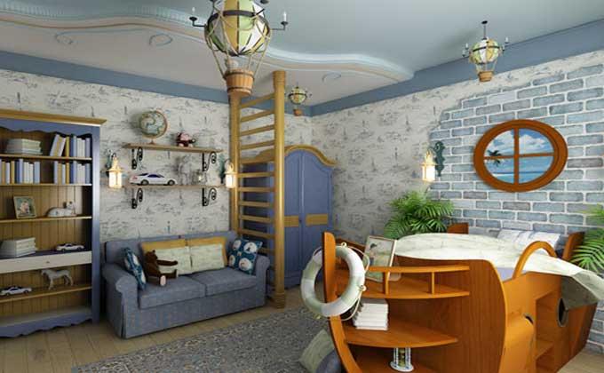 Дизайн-интерьера-детской-комнаты