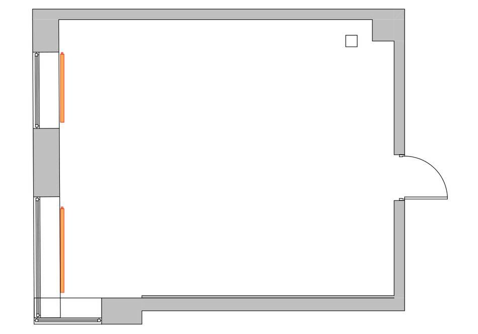 Дизайн маленькой двухкомнатной квартиры 33 кв.м. (11)