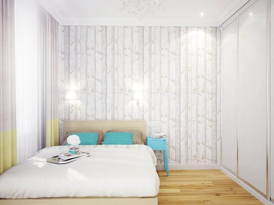 Дизайн маленькой двухкомнатной квартиры 33 кв.м. (8)