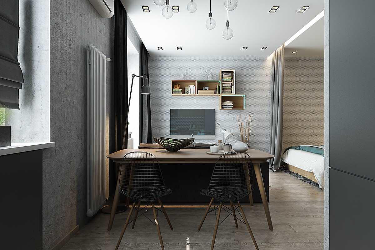 Дизайн маленькой квартиры 40 кв (1)
