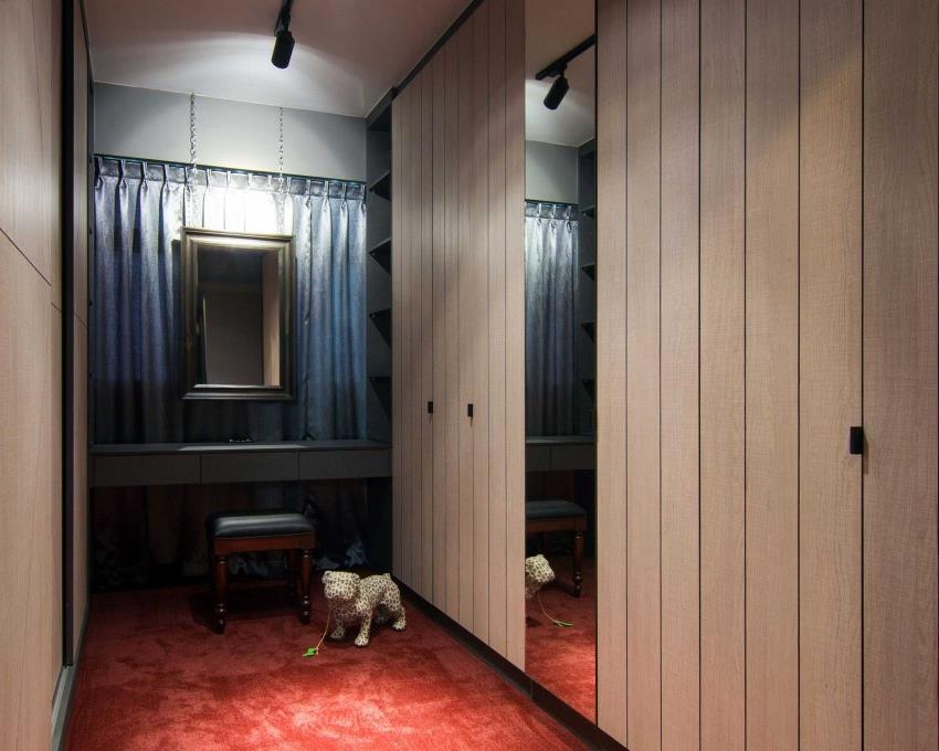Дизайн стильной современной квартиры в Сингапуре (11)