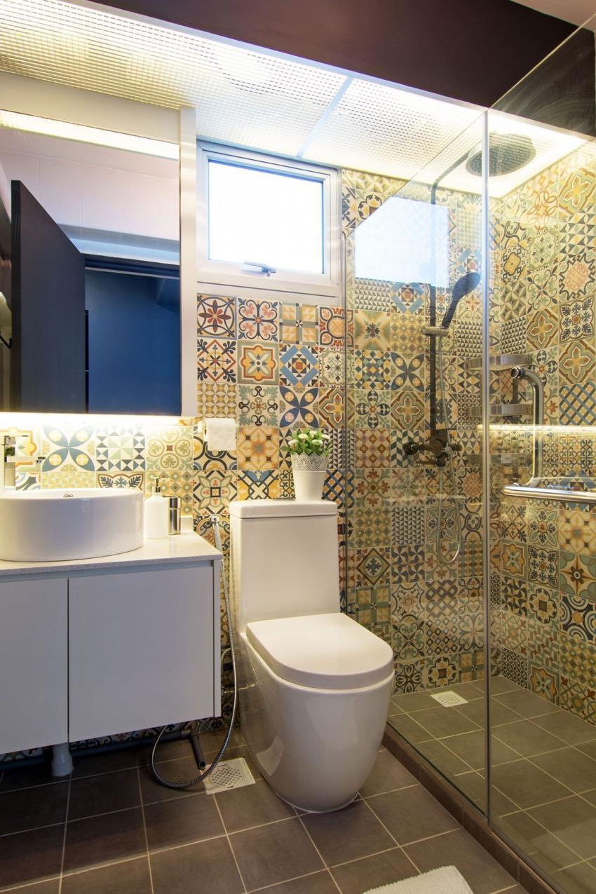 Дизайн стильной современной квартиры в Сингапуре (3)