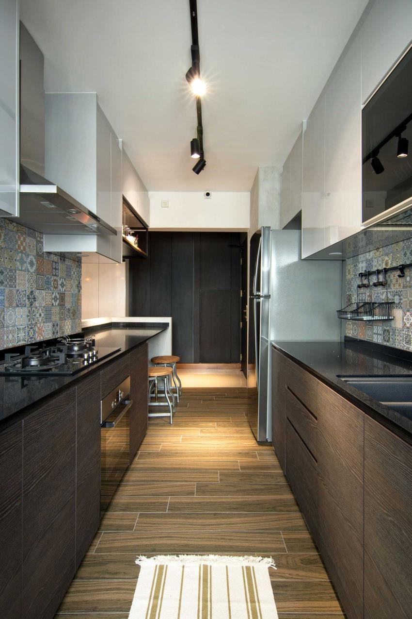 Дизайн стильной современной квартиры в Сингапуре (4)