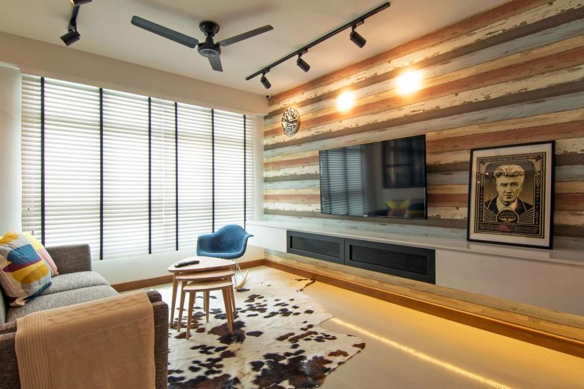 Дизайн стильной современной квартиры в Сингапуре (9)
