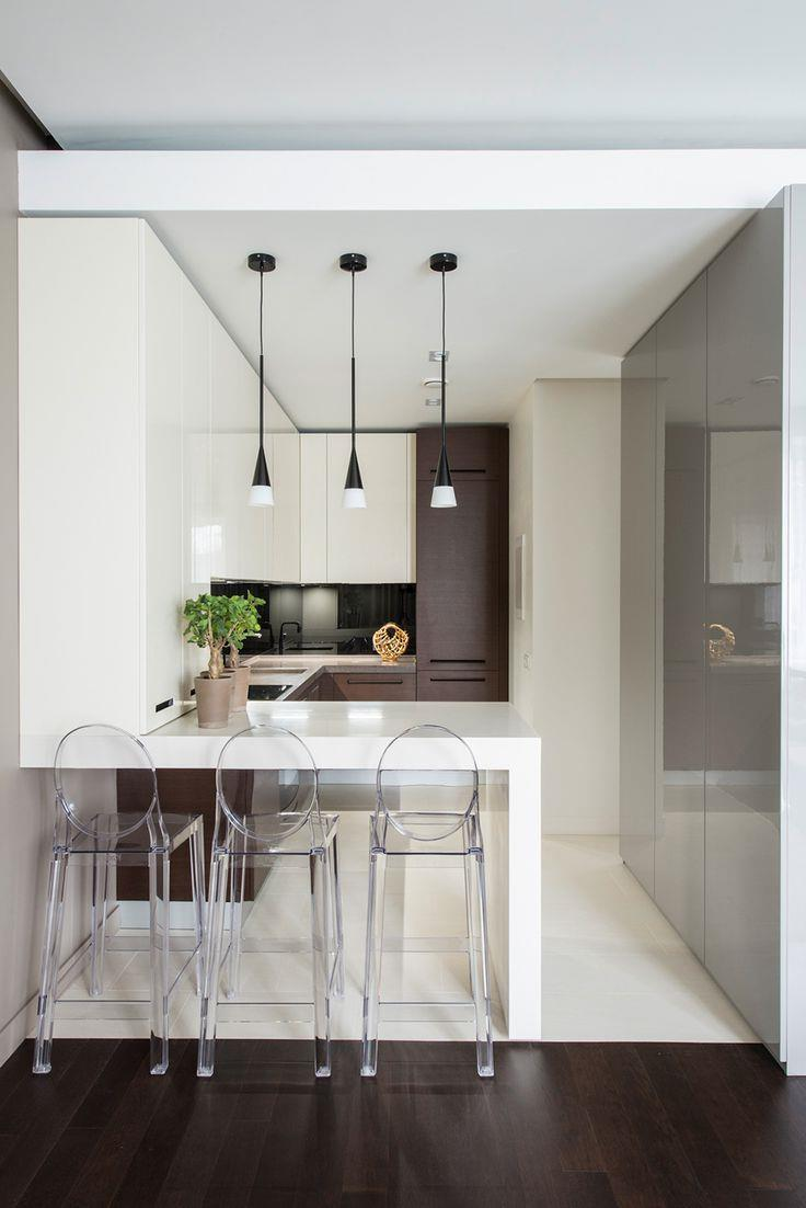 Дизайнерские идеи для небольшой кухни (14)
