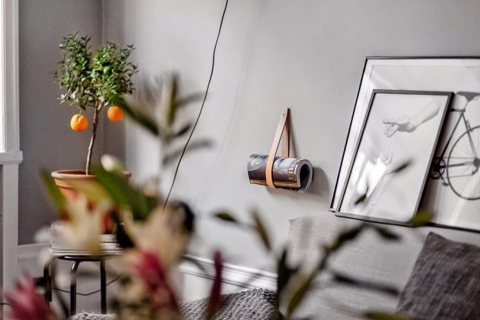 Фото интерьера маленькой однокомнатной квартиры 38 кв.м (13)