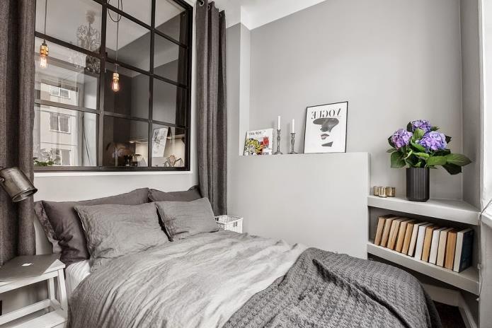 Фото интерьера маленькой однокомнатной квартиры 38 кв.м (16)