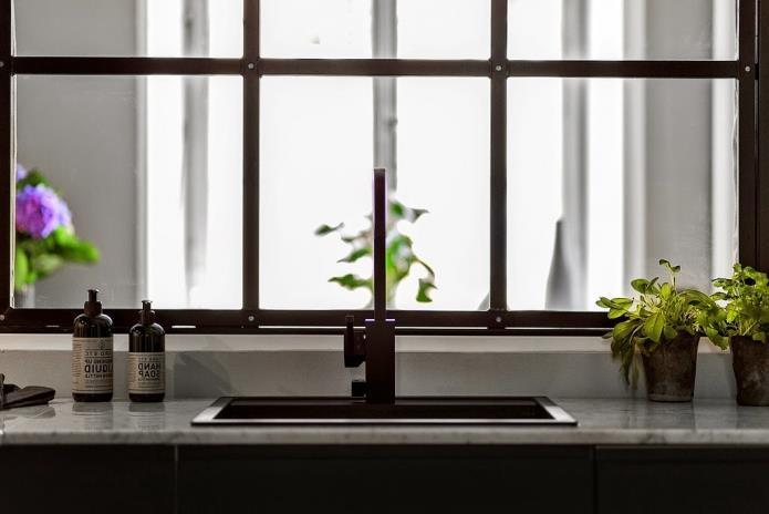 Фото интерьера маленькой однокомнатной квартиры 38 кв.м (6)
