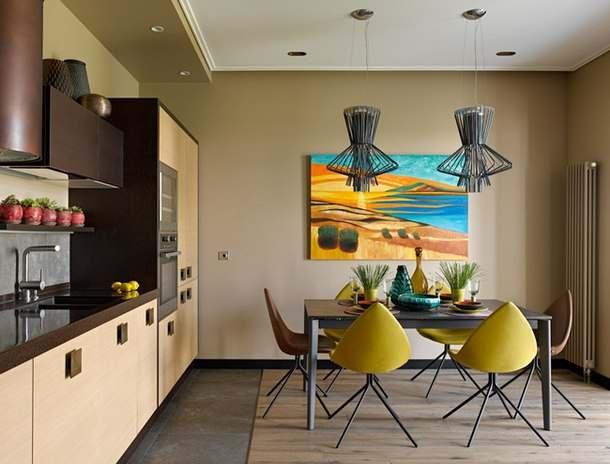Интерьер двухкомнатной квартиры 90 квадратных метров5